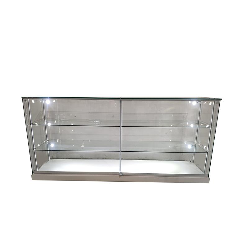 Retail display case lighting with 2 adjustable shelves,6 led side    OYE b