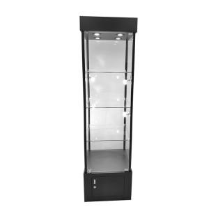 Store showcase display with Locking hinged glass door   |  OYE