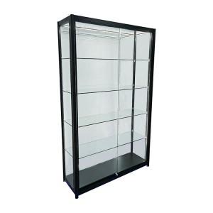 Trophy medal display case with 4 adjustable glass shelves  |  OYE