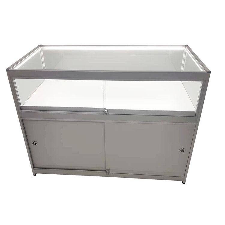 Sliver Glass Display Counter