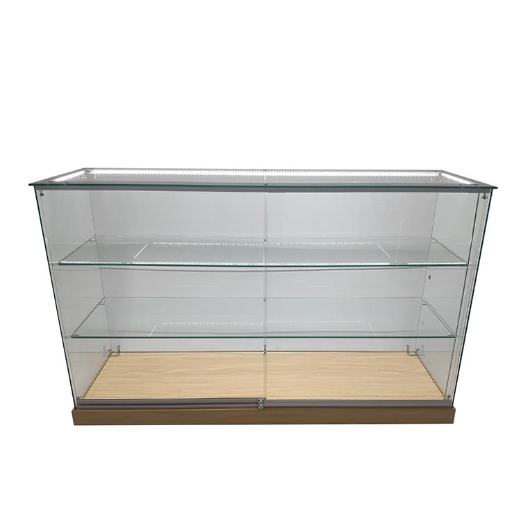 https://www.oyeshowcases.com/glass-display-case-retail-with-2-adjustable-shelfled-strip-light-oye-product/